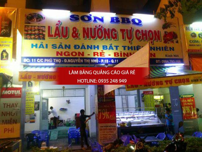 mau bang hieu quan an nha hang dep 8 - Thi công làm bảng hiệu quảng cáo quận Tân Phú