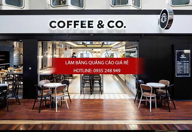 nhung mau bang hieu cafe dep 8 - Làm bảng hiệu quảng cáo quận Bình Tân TPHCM