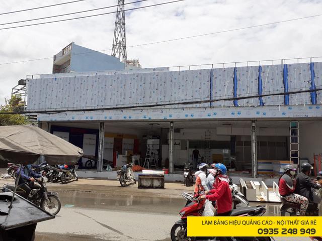 Ốp mặt dựng alu cho chuỗi điện máy Nguyễn Lực