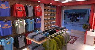 thiết kế thi công shop giày (2)