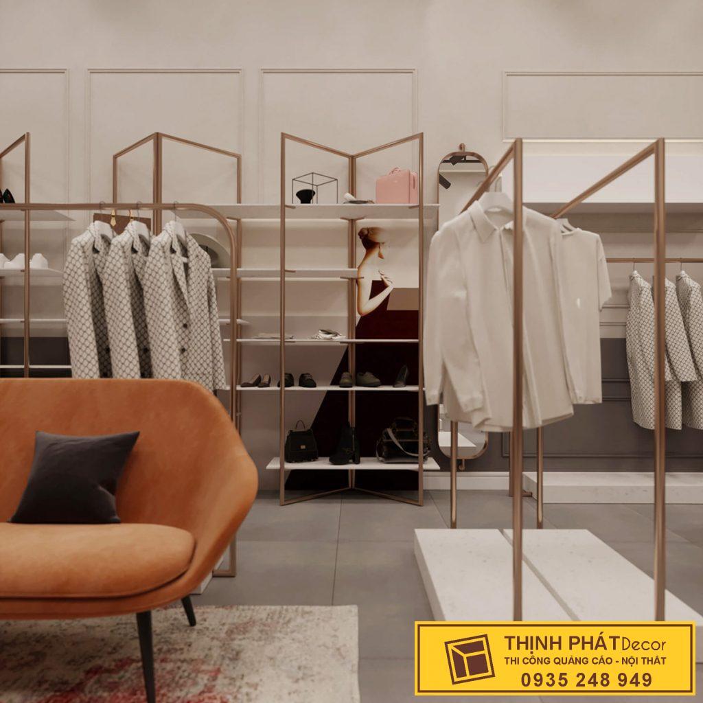 thiết kế thi công shop áo quần