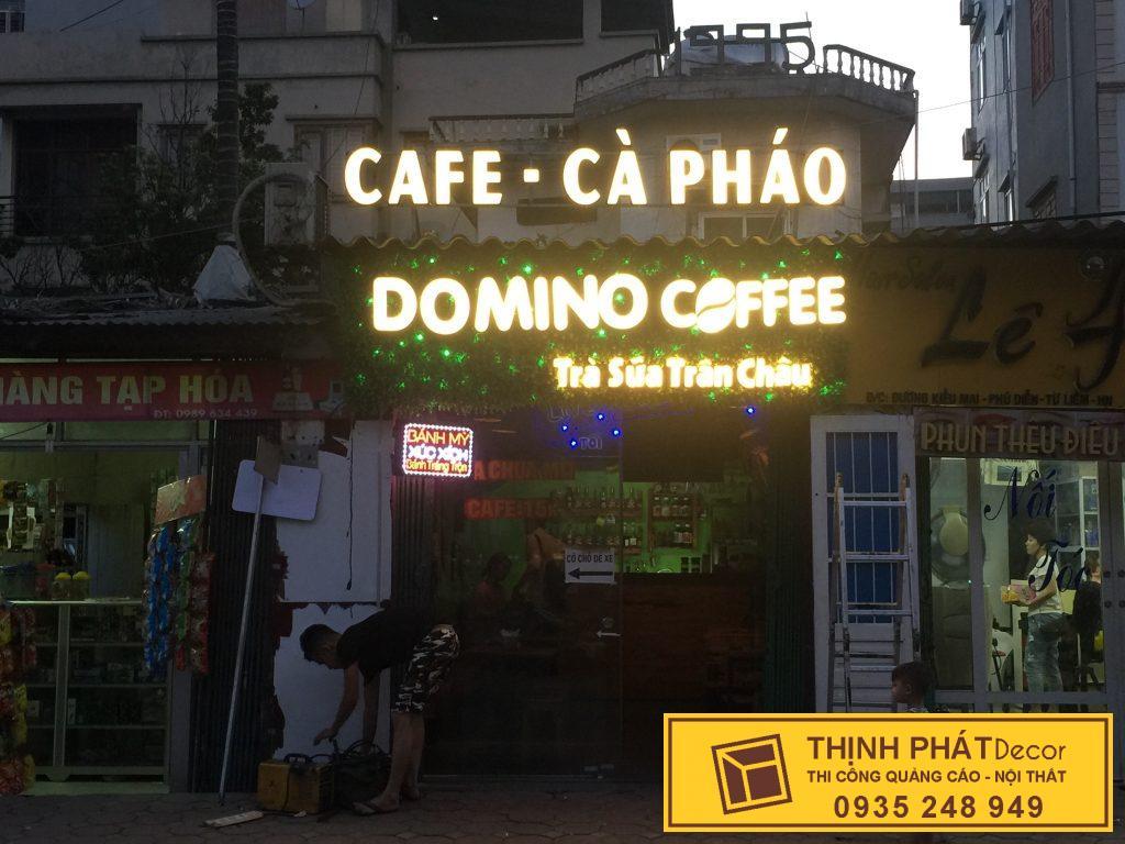 Mẫu bảng hiệu quán trà sữa đẹp
