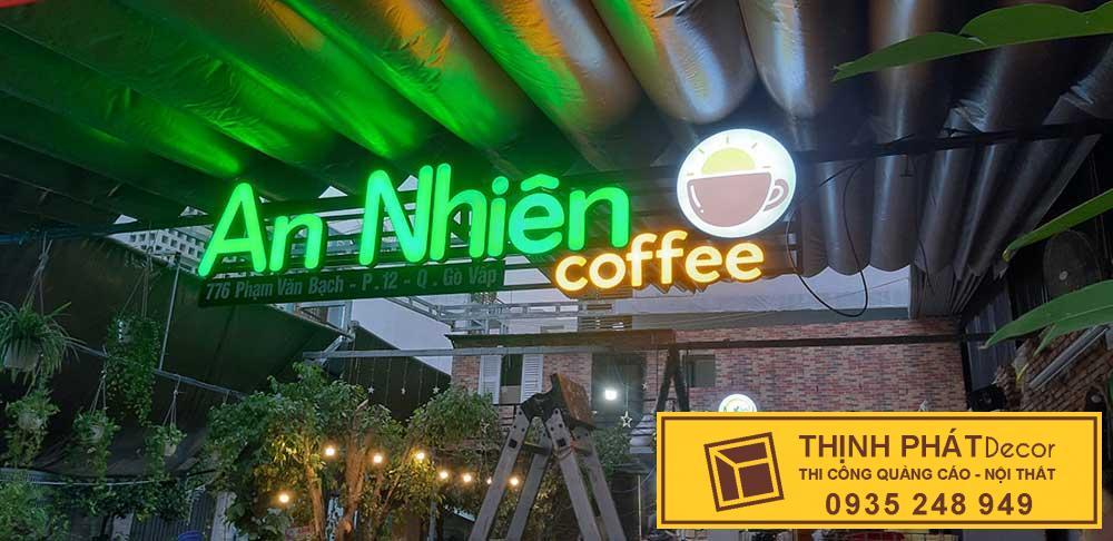 Làm bảng hiệu quán quán cafe