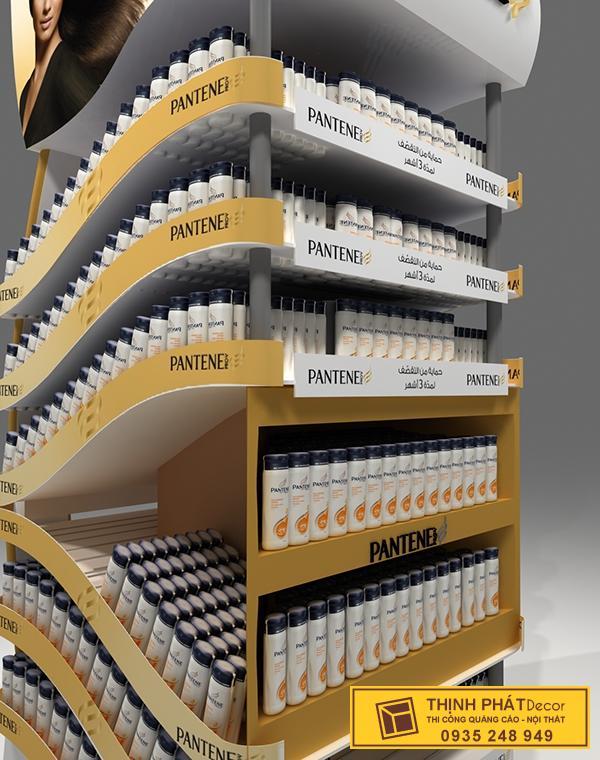booth bán hàng PANTENE
