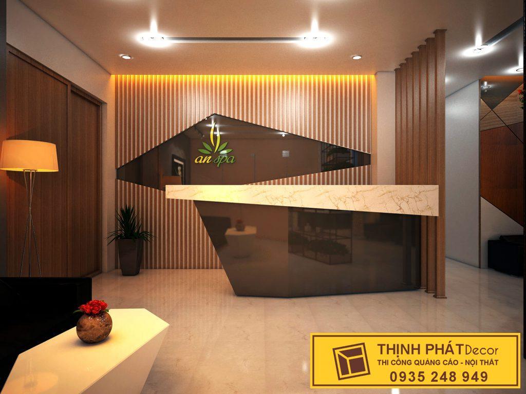 thiết kế spa thi công trọn gói spa